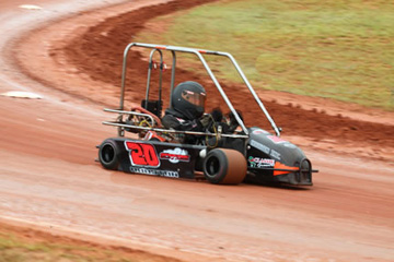 Junior J.r. Houston finds a passion in go-kart racing and competes at state and national levels
