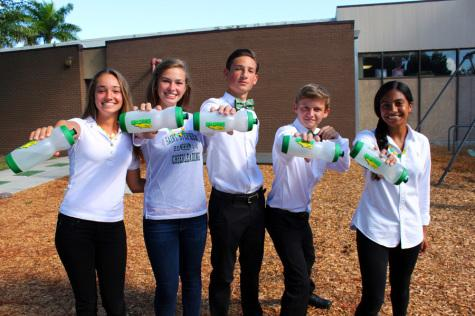 Falcon Friends: Reusable water bottles take over at Saint Stephen's
