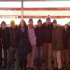 The Columbia Model United Nations team poses for a photo in Times Square. From left to right: Paige Lindsay '15, Dylan Patterson '15, Alex Siegel '17, Trevor Donnelly '17, Devon Sullivan '16, Hayes Chatham '18, Tim Macchi '15, Andrew Zandomenago '15, Ethan Leuchter '16, Joe Class '16, Henry Wallace '17 and Grace Horn '16.