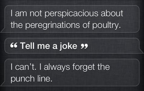 Siri means what Siri says