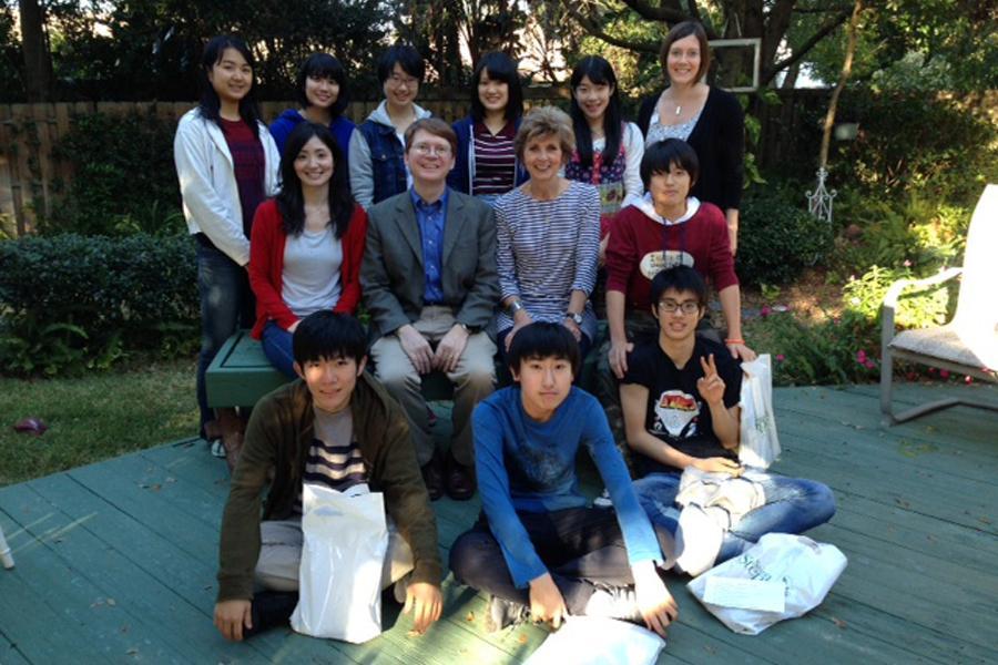 Japanese visitors arrive Saturday.