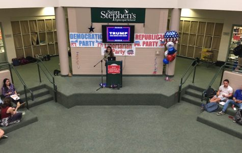 Mock republican rally prepares students for election