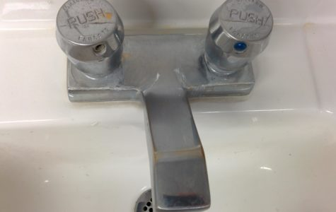 Slow water pressure in US men's bathrooms leads to less hand-washing
