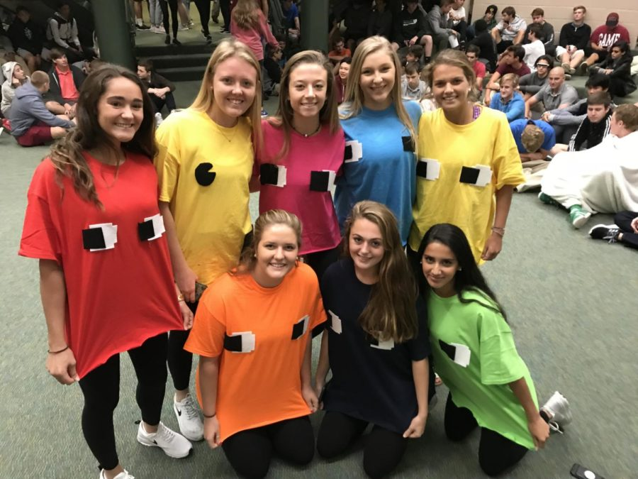 Halloween Costume Contest Wednesday (spirit points on the line)