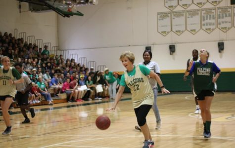 The Student-Faculty Basketball Game