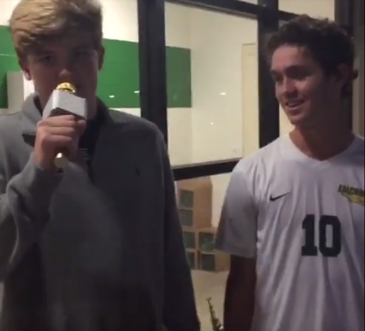 Post-game interview: Ty Barker reports on soccer's 0-0 tie