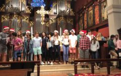 "Full Video: ""12 Days of Christmas"" sing-a-long in Tuesday's chapel"