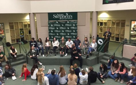 Photo of the Day: Alumni Panel during assembly