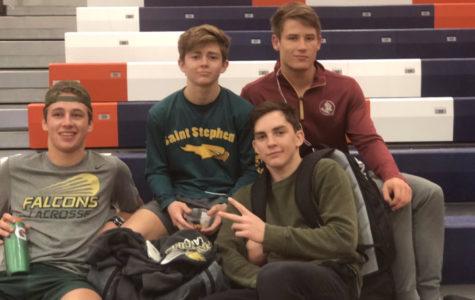 Photo of the Day: Varsity Wrestling Tournament