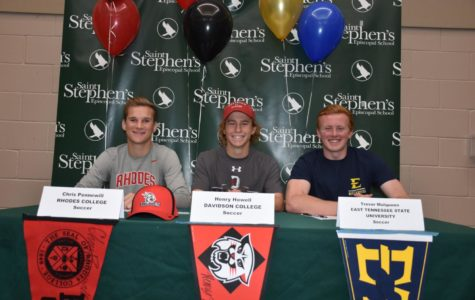 Photo of the Day: National Signing Day; seniors commit to colleges at assembly