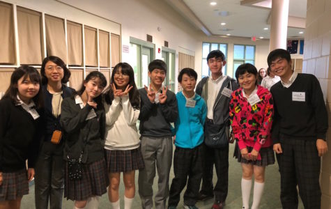 Photo of the Day: Japanese sister-school students arrive!
