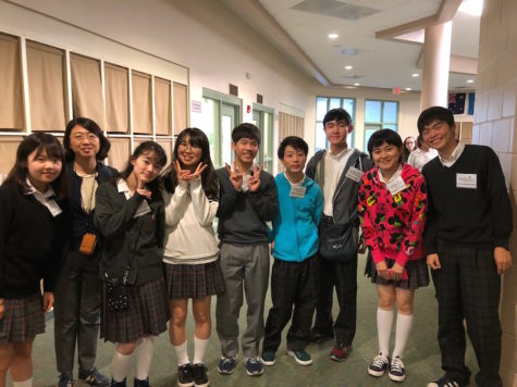 Students from Shibuya High School in Japan, our sister school, have arrived and will be sharing lessons and fun with Falcons.