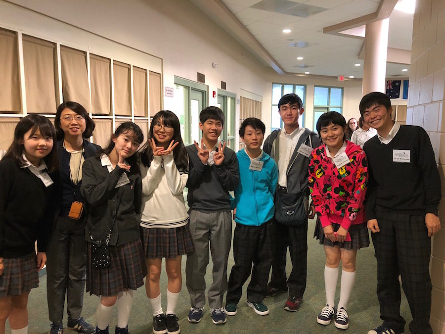 Interview with the Japanese students