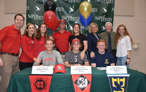 Full Video: College Signing Day- Seniors commit