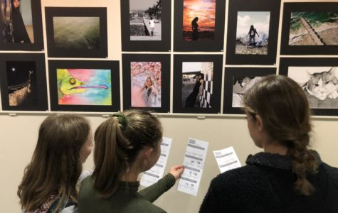 Who is the best artist at SSES? Alexi Tucker awards are in…