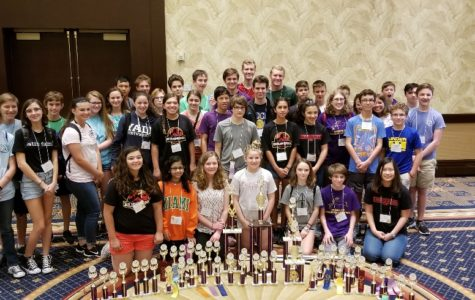 Falcons crush at Latin States; several members win State titles