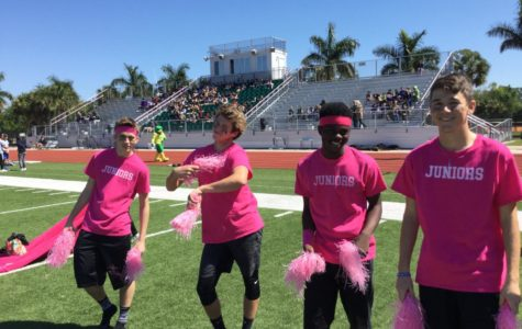 Full (hilarious) video: highlights from powder-puff football extravaganza