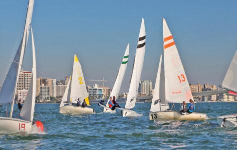 Sailing Club a hit at yesterday's club fair