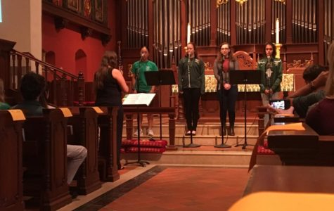 Photo of the Day: Falcon voices sing in chapel