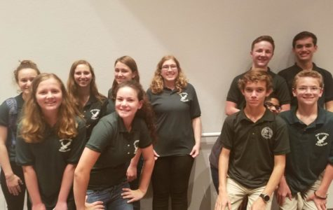 Academic Team grabs the win in first meet of the year
