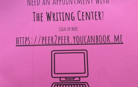 The Writing Center is open and gaining momentum