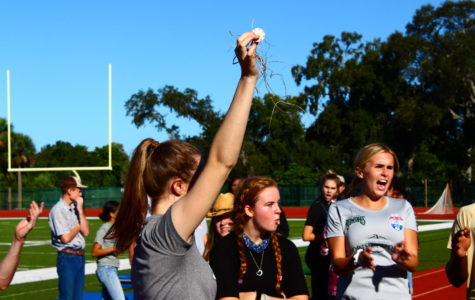 Homecoming relay race coverage
