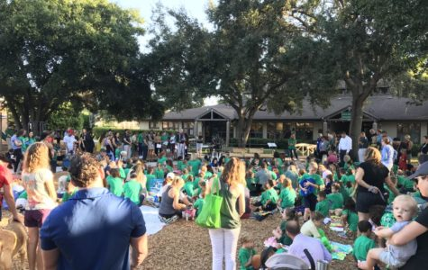 "Lower School hosts annual ""Blessing of the Animals"""