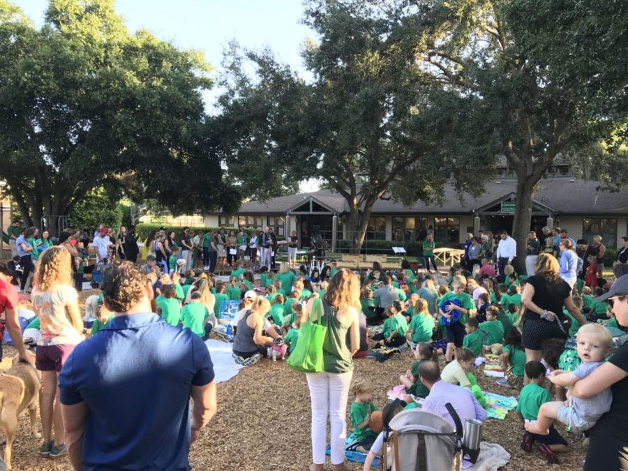 """Lower School hosts annual """"Blessing of the Animals"""""""
