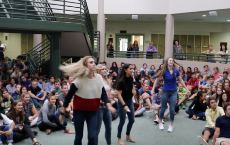 Video game spirit competition rocks assembly