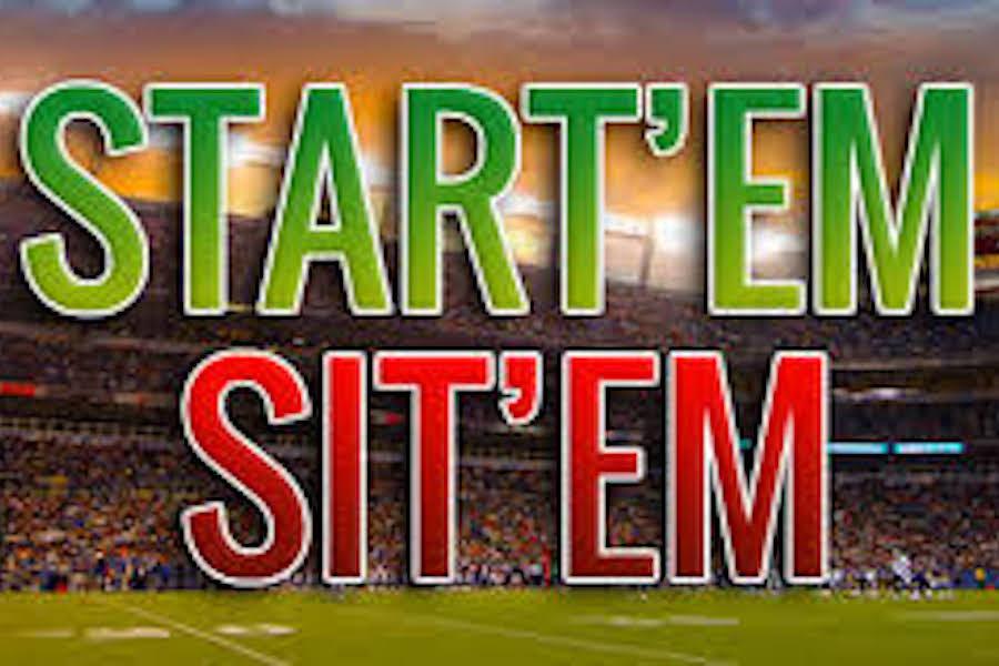 Fantasy Football Start 'em Sit 'em Week 13