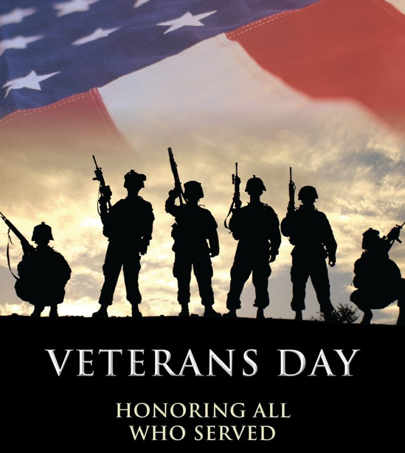 A+Vetrans+day+poster+to+honer+all+the+people+who+served+in+the+armed+forces.+