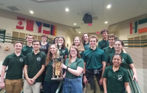 Academic Green Team wins top spot in county