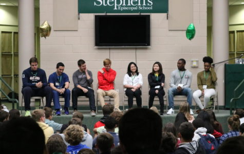 Alumni panel visits Wednesday, spreads wisdom