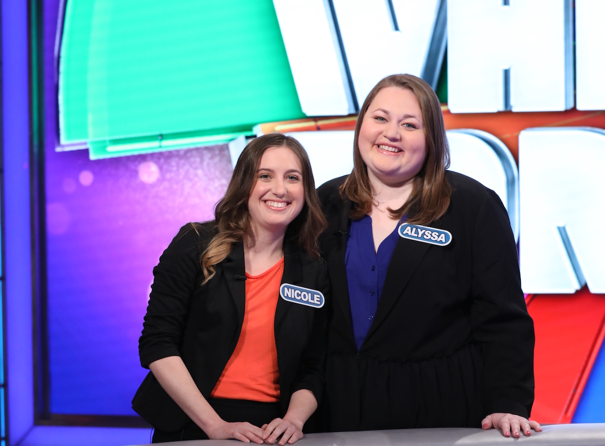 Mrs. Cunningham and her best friend Alyssa participated on the notorious show, Wheel of Fortune.