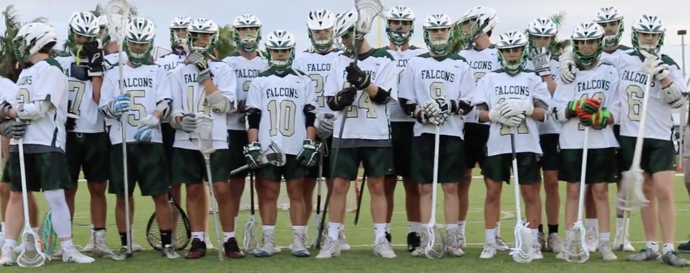The 2019 varsity boys lacrosse team. Credit: Ollie Leclezio