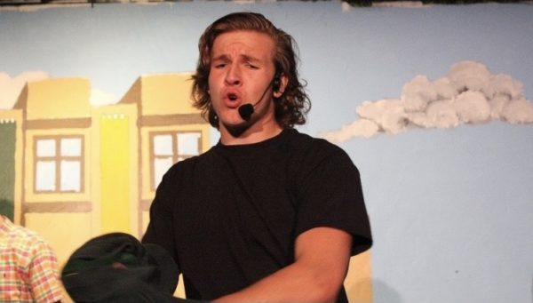 Cam Vining performing in last years musical,