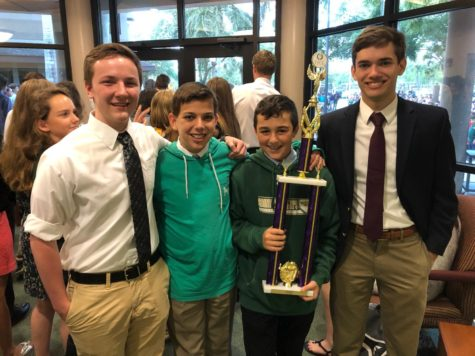 Latin team wins state academic trophy