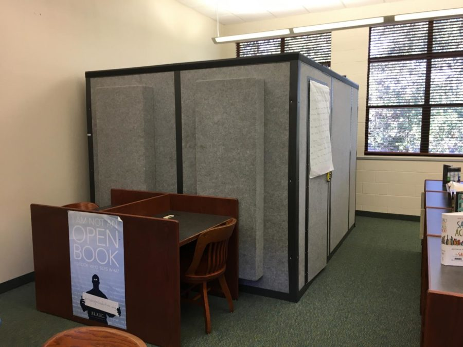 Ask and you shall receive: study pod arrives in US library
