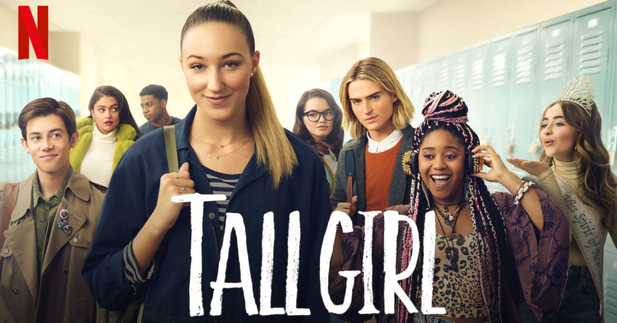 Movie poster created for this trending Netflix Original: Tall Girl.