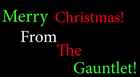 Merry Christmas from The Gauntlet 2019