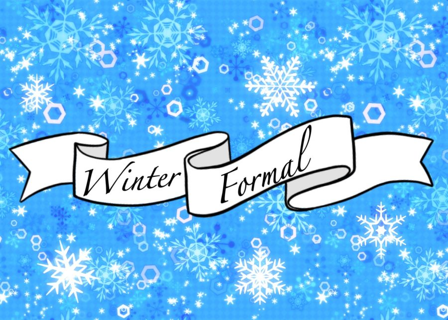 Winter Formal will be held on Saturday, January 26th, from 7 to 9 p.m. at the Manatee Performing Arts Center.  Art by Evanthia Stirou