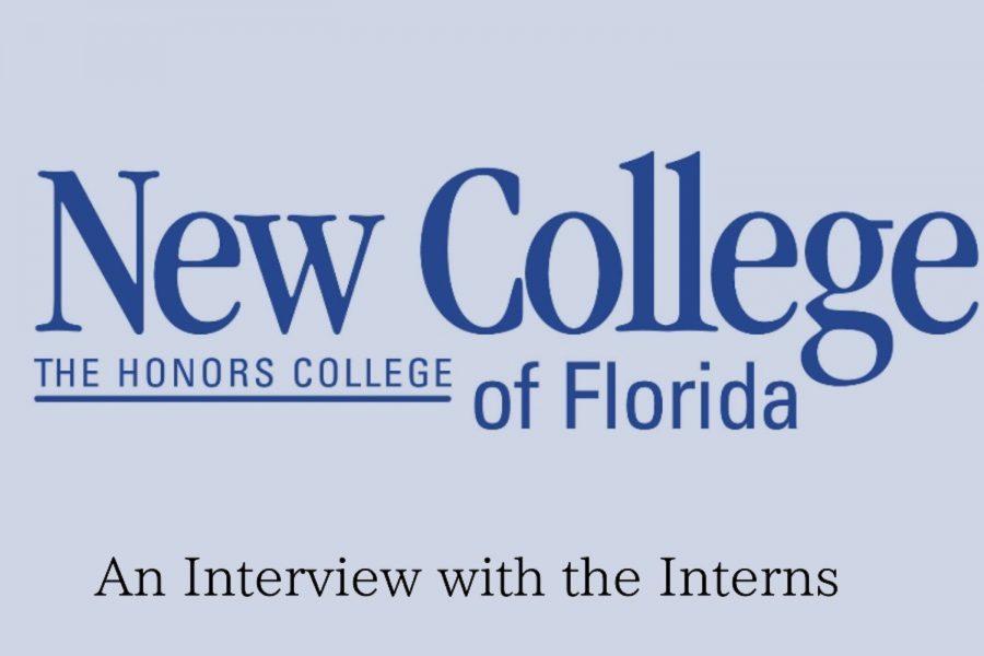 An interview with the New College interns. Original artwork by Evanthia Stirou.