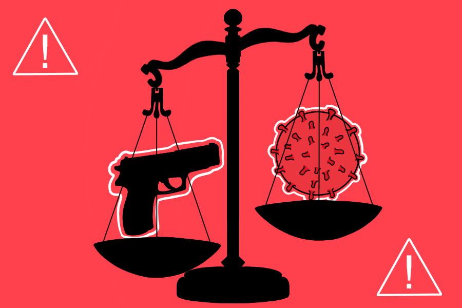 Should+the+gun+violence+crisis+weigh+as+much+on+the+scale+of+social+action+as+the+Coronavirus%3F++