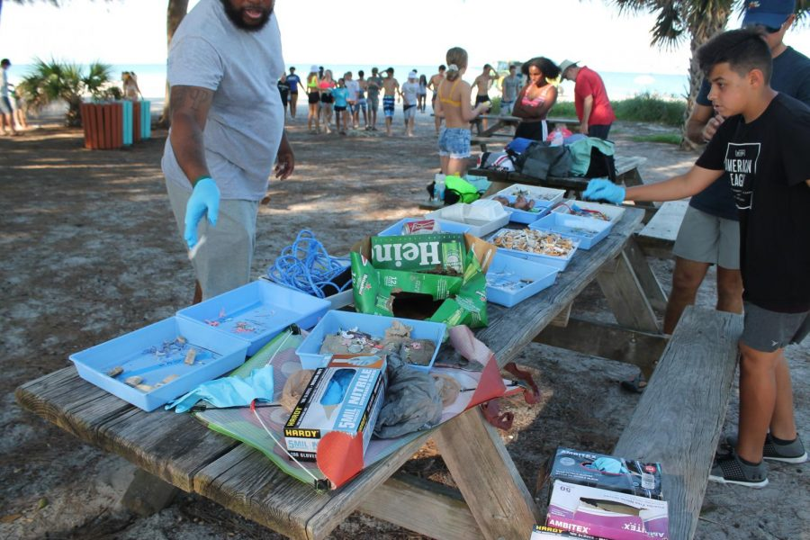 MS cleans up Holmes Beach at annual beach day