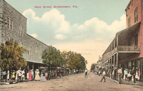 Kids need a place like the Main Street of old to fill the void of a central locale where teens can hangout.  Image from Wikipedia.