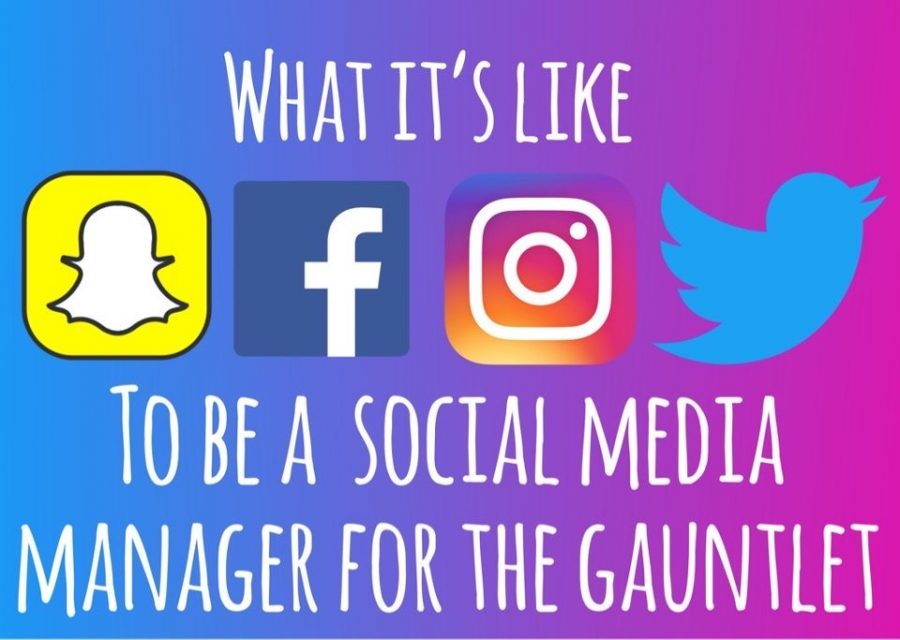 What it's like to be a social media manager for The Gauntlet