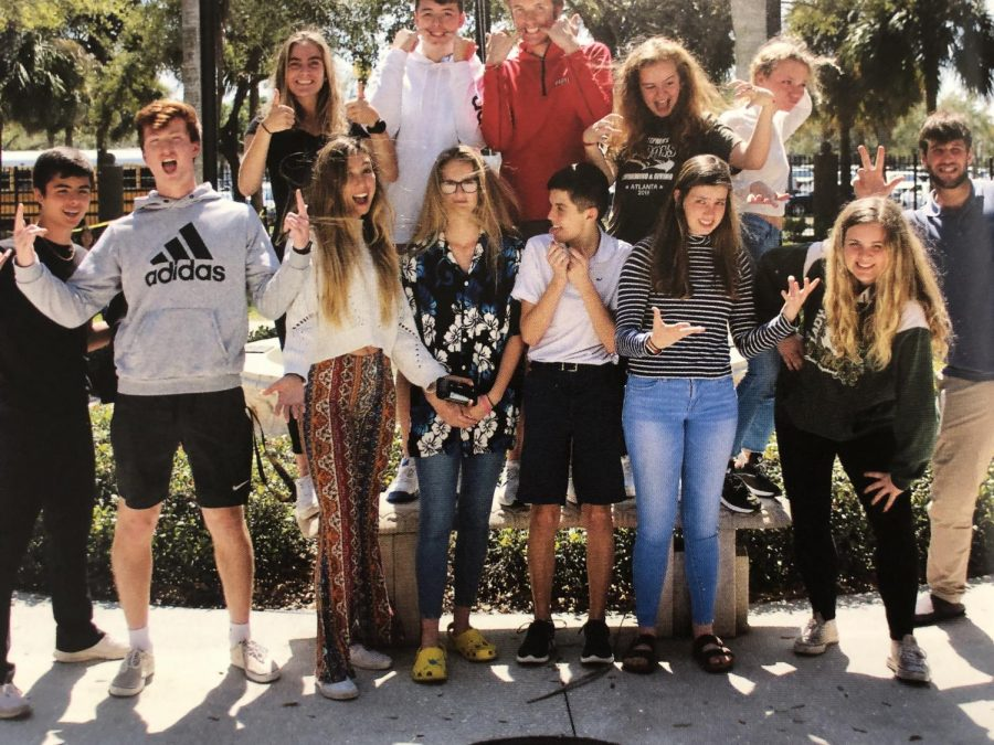 Last years Student Council.  Will you be the next rep?  Or president?