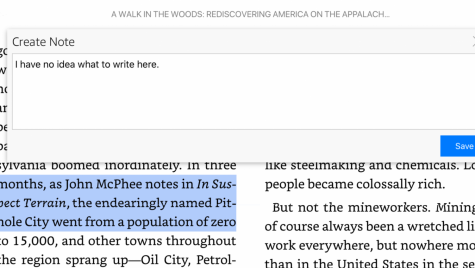 Annotations can be helpful, but what happens when you don't know what to write?