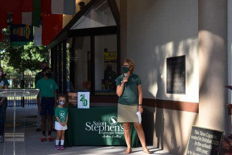 Dr. Pullen speaks about how far Saint Stephens has come since the original opening in 1970.