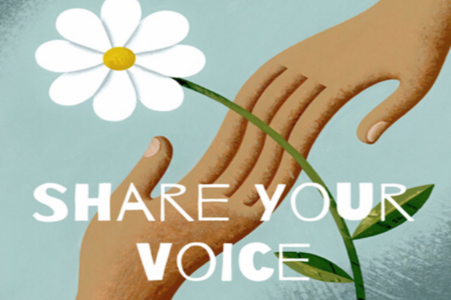Share+Your+Voice+is+all+about+stories+of+kindness+in+our+community+and+the+world